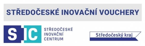Středočeské inovační vouchery logo